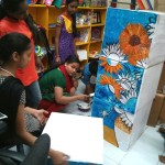 Learning Van Gogh - Art for Akanksha at Kalaghoda