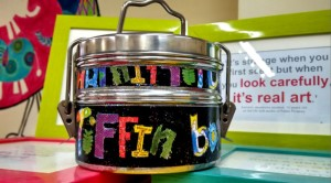 Art Tiffin Box Give Away