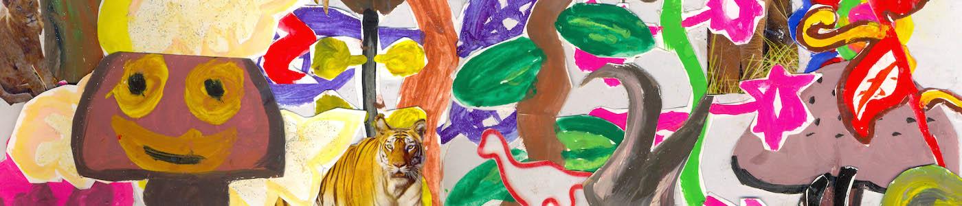 Rousseau Art work - Art for Akanksha