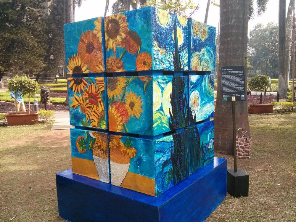 Art for Akanksha installation at Kalaghoda Fest 2015
