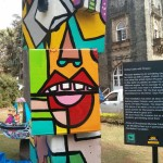 Going Cubic with Picasso - Art for Akanksha at Kalaghoda